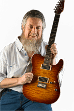 Get easy blues guitar lessons